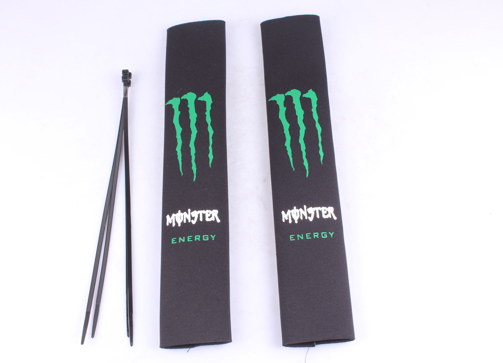 Чехол на передний амортизатор MONSTER ENERGY 350мм ( пара )