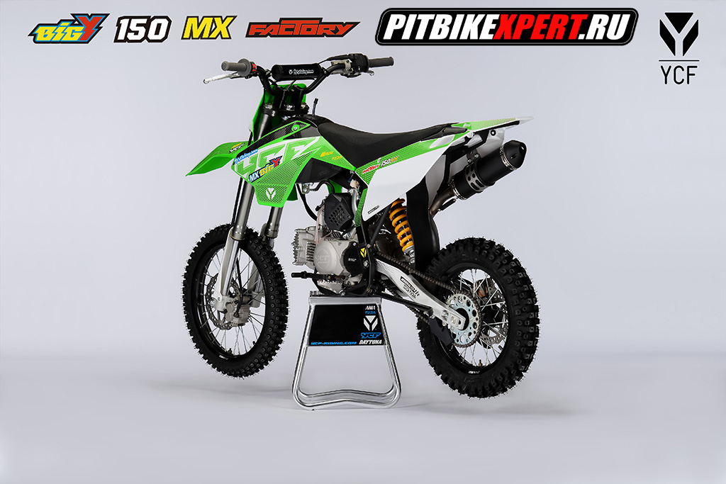 Питбайк YCF BIGY 150MX FACTORY 17/14 ,150cc, 2019г.