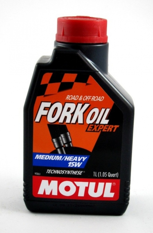 Масло для вилок Motul Fork Oil Expert Medium/Heavy 15W 1л  (арт.101138)