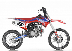 Питбайк  APOLLO RXF Freeride 125 19 x16  red/blue/yellow/orange/green