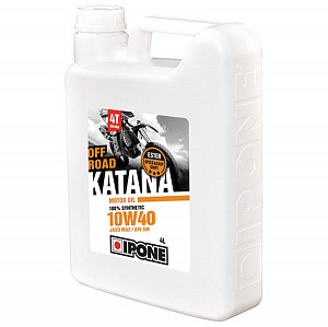 Масло 4T IPONE OFF ROAD KATANA 10W40 4L